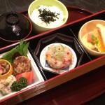 白身魚カルパッチョ定食